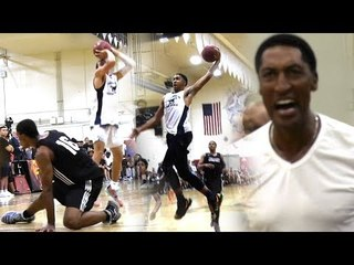 DJ Davis Hitting STEPH THREES VS Scottie Pippen Jr! INSANE Game Had Scottie Pippen FIRED UP!