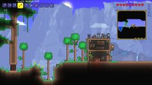 Lets Play Terraria 1.2.4    Mage Class Playthrough    Mage Tower & Eye Of Cthulhu! [Episode 6]