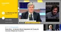 Réforme de l'ISF : Stéphane Le Foll ne croit pas que les plus riches investiront dans l'économie