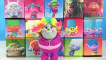 DREAMWORKS TROLL Movie, Song and Dance Poppy & Branch, Toy Surprise 15 Blind Boxes, M&Ms