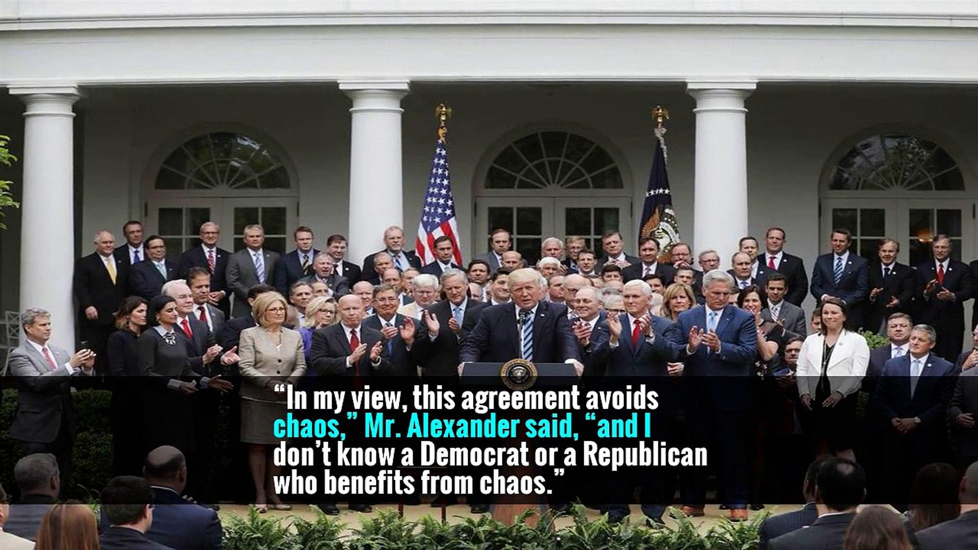 2 Senators Strike Deal on Health Subsidies That Trump Cut Off