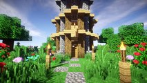 Minecraft: Easy/Simple Starter Survival House/Base/Home Build