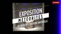 Des météorites comme s'il en pleuvait au Museum national d'histoire naturelle
