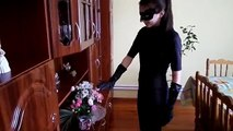 Spiderman present FLOWERS Сatwoman - SPIDERMAN KISS CATWOMAN || Funny Superhero Movie in Real Life