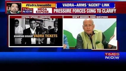 Congress Defends Robert Vadra, Alleges NDA Govt Of Witch Hunt