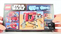 LEGO STAR WARS The Force Awakens Reys Speeder Set Review (75099)