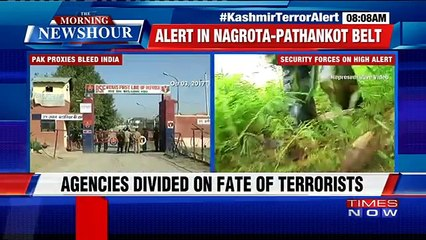 Intel Report Suggests Possible Terror Attack In The Next Few Days In Nagrota-Jammu-Pathankot Area