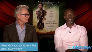 Djimon Hounsou & Ron Hall on 'Same Kind Of Different As Me'
