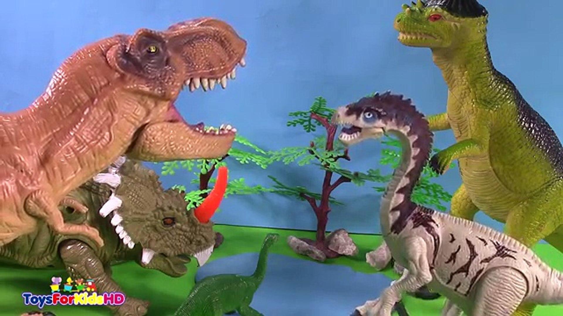El Toysforkidshd Amistoso Para Los Niños T Rex Dinosaurios Videos De 4R3jLA5qcS