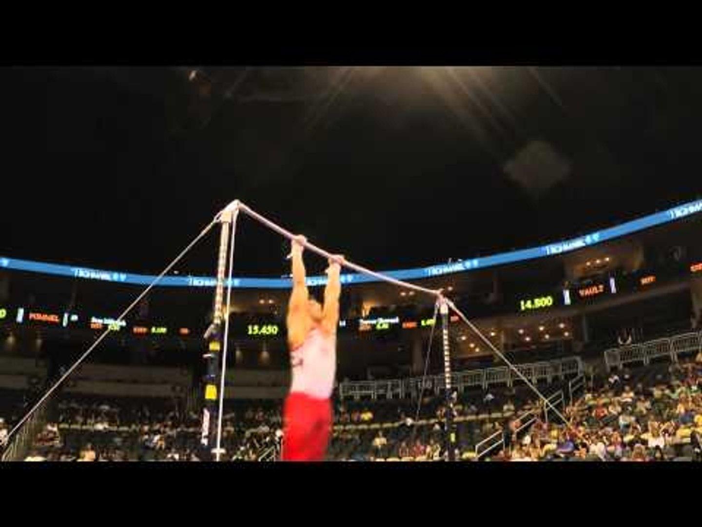 Hunter Justus – Horizontal Bar – 2014 P&G Championships – Sr. Men Day 2