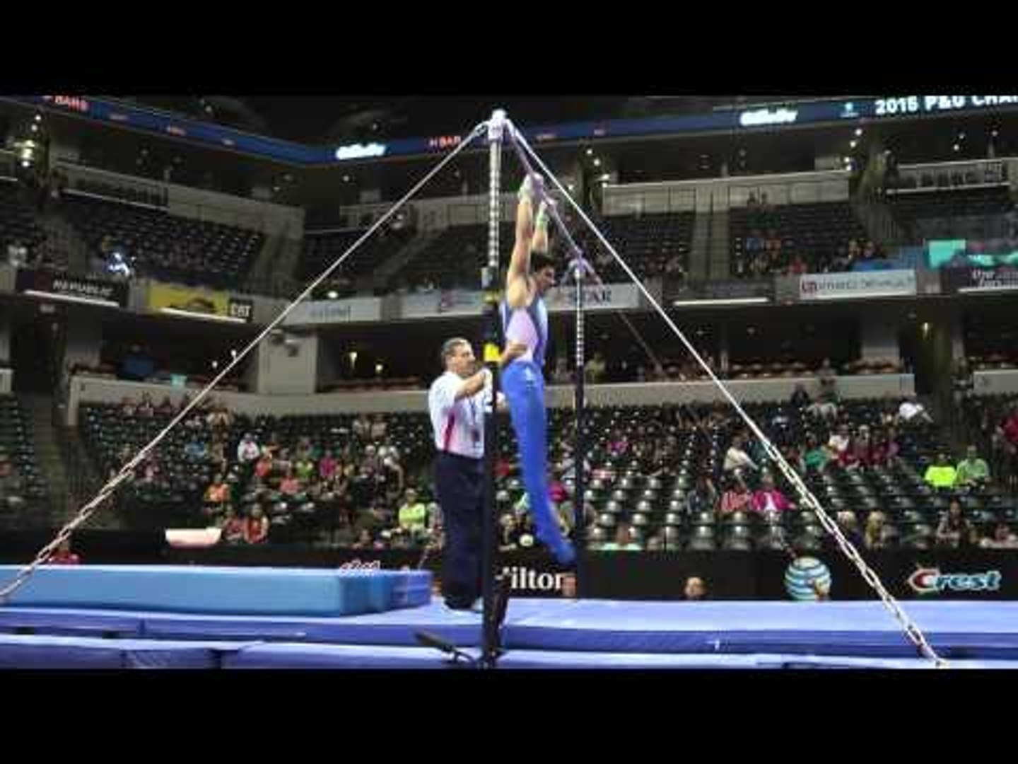 Tanner Justus – High Bar – 2015 P&G Championships – Jr. Men Day 1