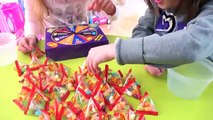 LEARN COLORS With Color Candy - Jelly Bean Boozled CANDY CHALLENGE - Bad Kids Color Jelly beans