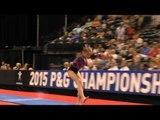 Olivia Dunne - Vault - 2015 P&G Championships - Jr. Women Day 2