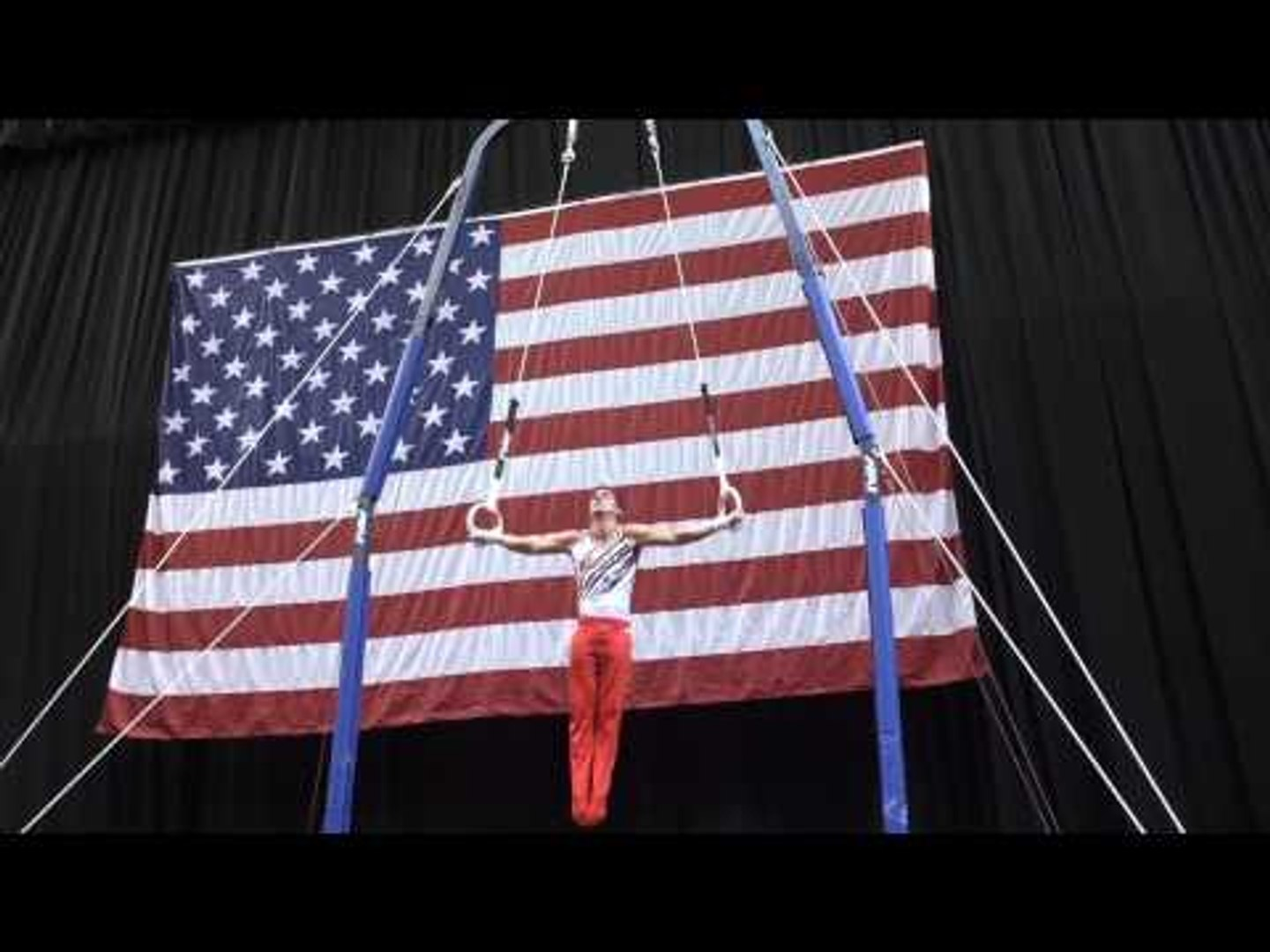 Hunter Justus - Still Rings - 2015 P&G Championships - Sr. Men Day 1
