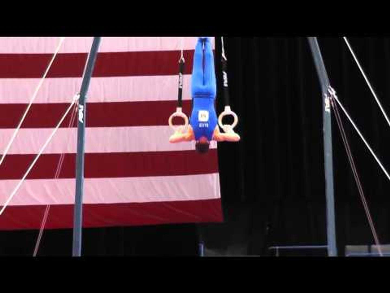 Bobby Baker - Still Rings - 2013 P&G Championships - Jr.  Men - Day 1