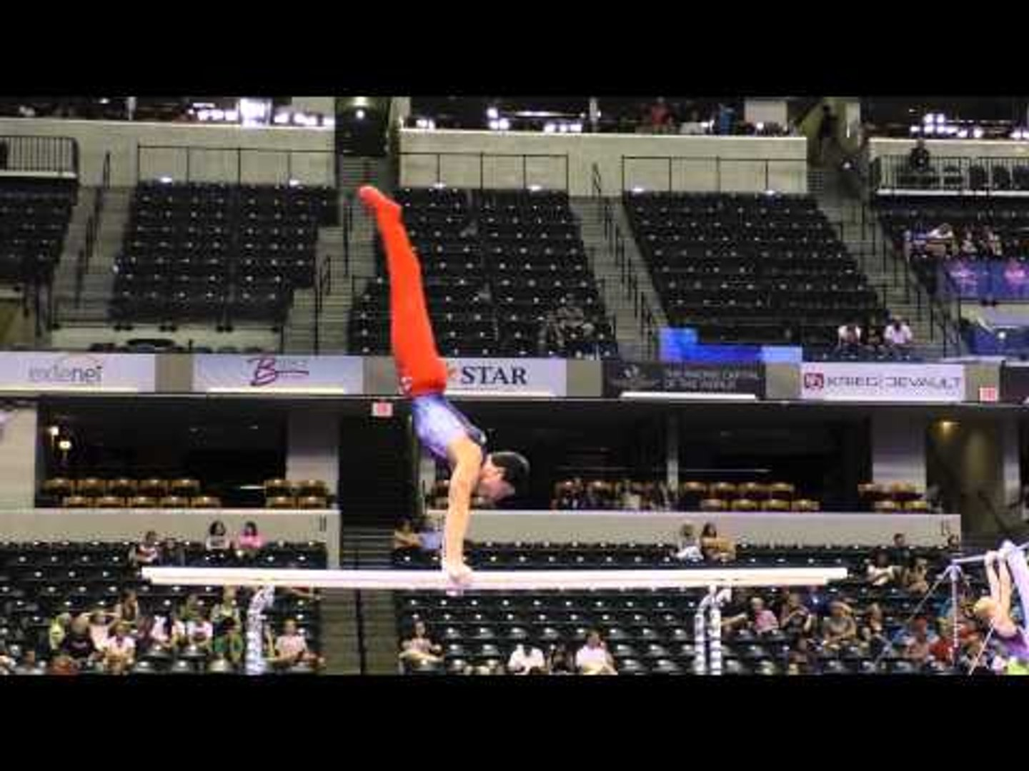 Tanner Justus – Parallel Bars – 2015 P&G Championships – Jr. Men Day 2
