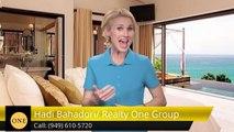 Hadi Bahadori/ Realty One Group Laguna NiguelGreatFive Star Review by Kaveh Sayyar