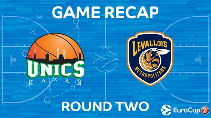 7Days EuroCup Highlights Regular Season, Round 2: UNICS 76-68 Levallois