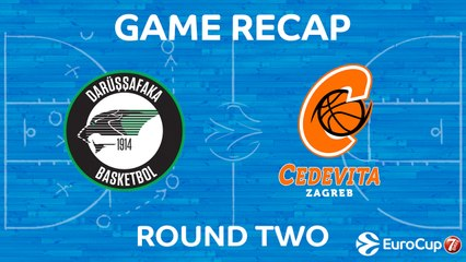 7Days EuroCup Highlights Regular Season, Round 2: Darussafaka 85-83 Cedevita