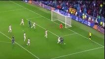 Pique sent off vs Olympiakos - FC Barcelona vs Olympiakos 1-0