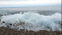 Ice Wave Lake Baikal, Siberia