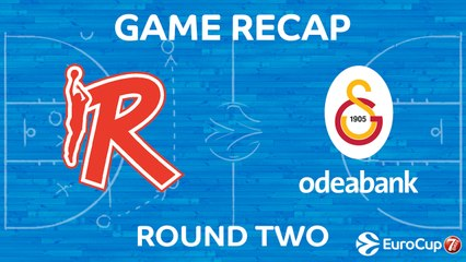 7Days EuroCup Highlights Regular Season, Round 2: Reggio Emilia 74-71 Galatasaray