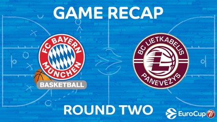 7Days EuroCup Highlights Regular Season, Round 2: Bayern 93-57 Lietkabelis