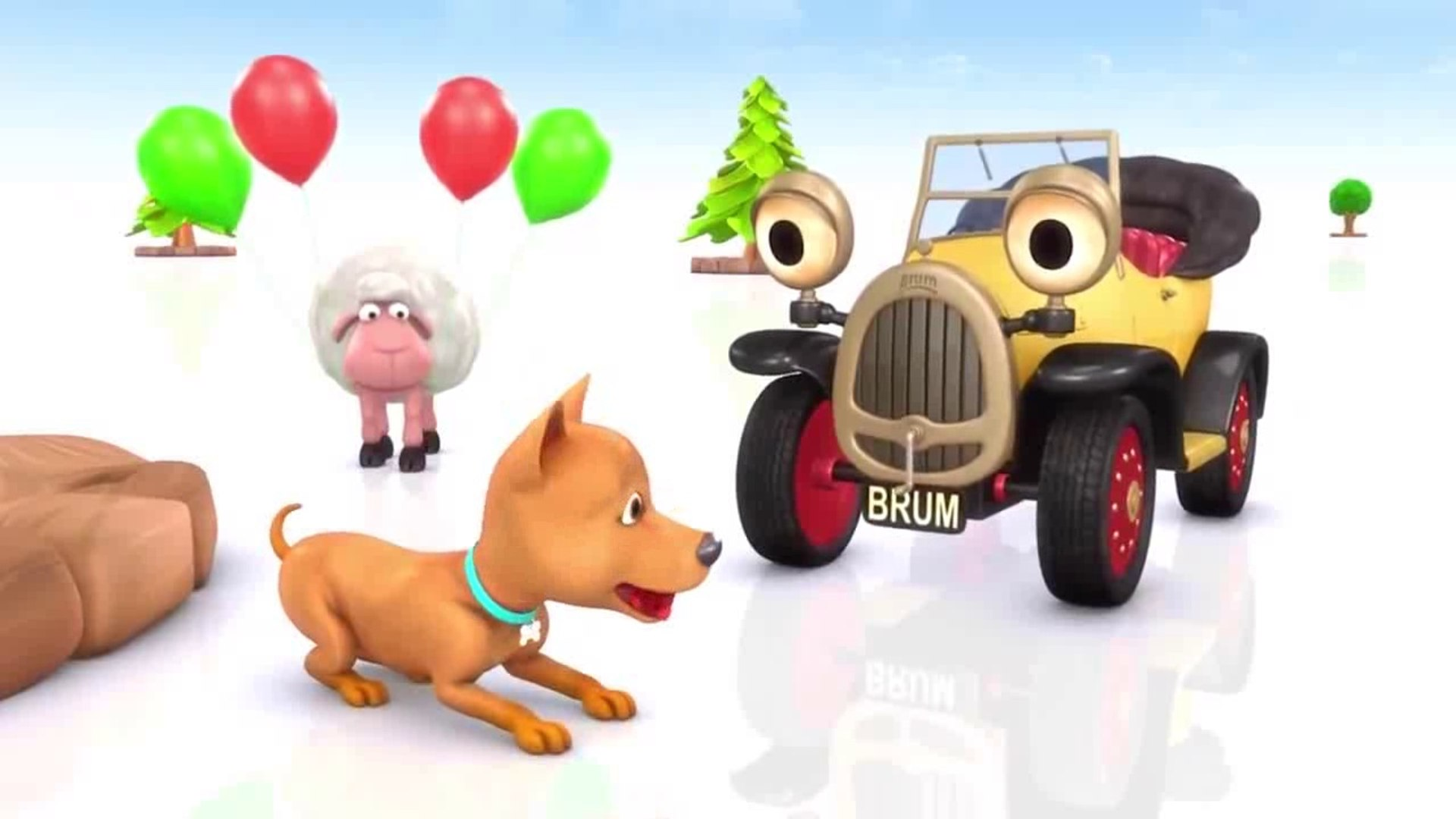 Brum Loves his Best Friends - KIDS SHOW FULL EPISODE - Cars and Trucks for kids