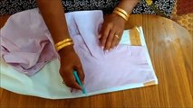 Blouse Cutting in Tamil | Easy Way to Learn Blouse Cutting | Simple Blouse Cutting Method