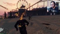 Ghost Rider vs The Hulk (GTA 5 Ghost Rider Modu)