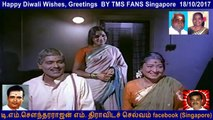Happy Deepavali Wishes, Greetings  BY TMS FANS Singapore  18.10.2017