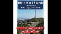 Bible Word Search Acts Volume 7 King James Version Extra Large Jumbo Print (Bible Memory Lighthouse Series)