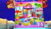 LEGO DUPLO Town 10587 Cafe Building Blocks Toy Videos For Children ★ Juego de Construcciones Bloques