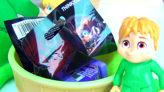 ALVINNN!!! & the Chipmunks Chipette Play-doh Ice Cream Sprinkles Surprise Minion Simon Theodore TUYC