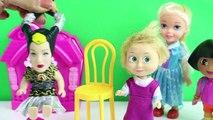 Maşa Kuaför Oldu Küçük Cadıya Ne Yapıyor? Dora Elsa ve Küçük Cadı Kua