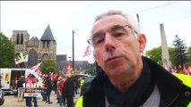 Mobilisation des fonctionnaires au Mans