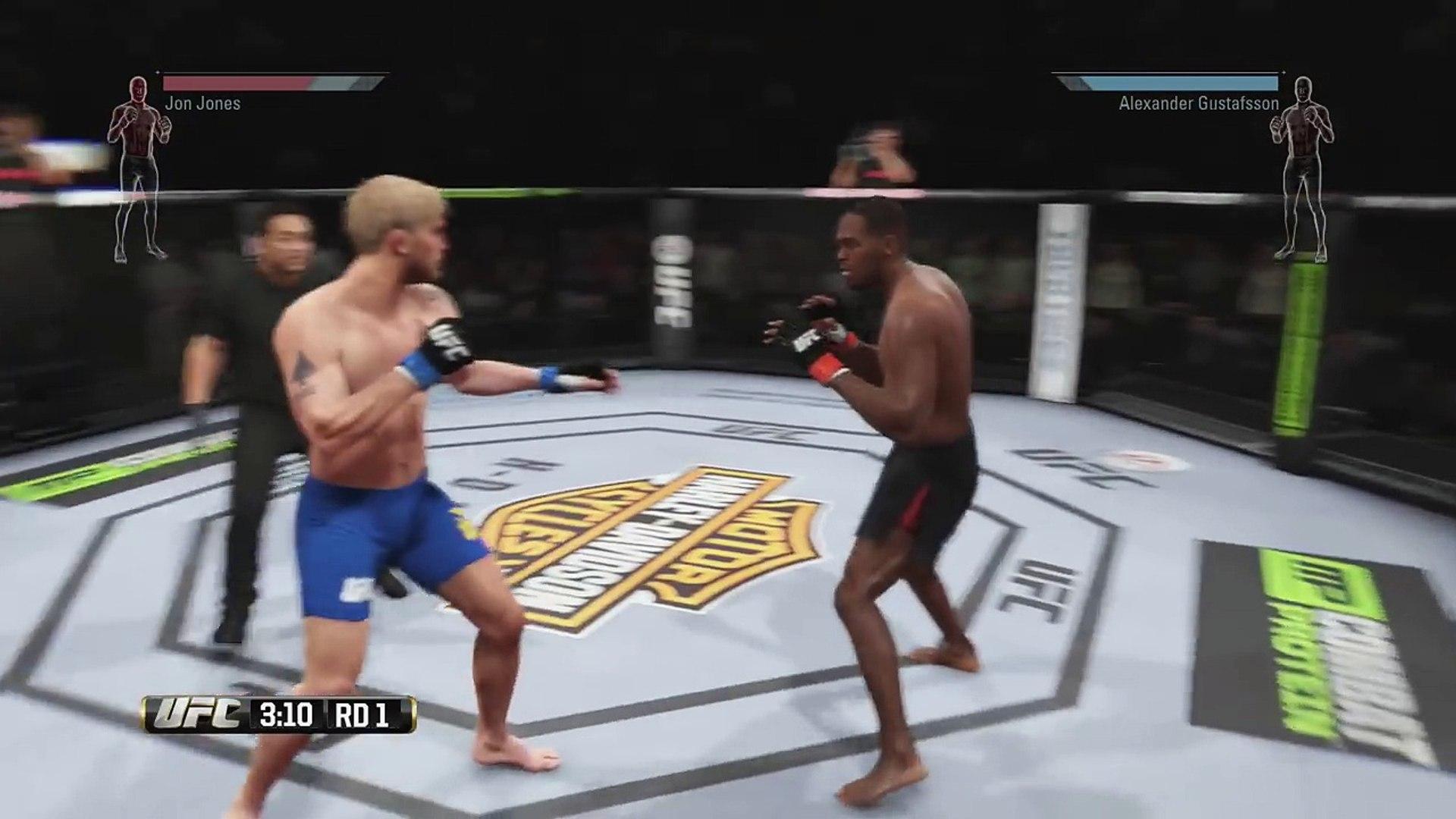 UFC new Gameplay: Longer Gameplay!!