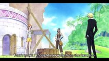 Sanji Luffy will become King of the Pirates!  One Piece  763  Eng Sub