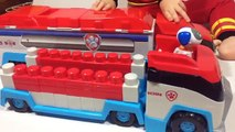 Paw Patrol Ionix Jr Paw Patroller Construction Blocks - Unboxing Demo Review