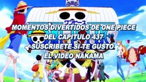 One Piece momentos divertidos 587! Luffy Ve A Ace Y Mr 3 Y Buggy Terminan Congelados