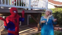 Angry Tooth Fairy Chases Ugly Elsa Loses Her Tooth Spiderman Fun Superhero Kids Videos