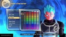 How To Create SSGSS Kaioken Goku in Dragon Ball Xenoverse 2
