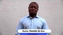 Karim Traoré - dit Exo s'exprime après la visite de ibk à kayes