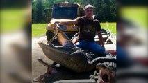 Meet Charlie LeDoux, the Louisiana Alligator hunter