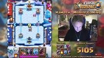 Hog + Elite Barbarians = Win | Clash Royale |