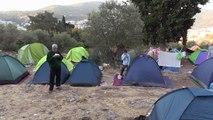 Flüchtlinge auf Samos in verzweifelter Lage