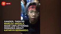 Marlou Arizala a.k.a. Xander Ford disses Kathryn Bernardo