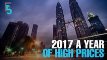 EVENING 5: 2017 'a year of high prices'