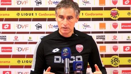 Conférence de presse d'Olivier Dall'Oglio avant FC Metz-DFCO