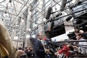 Allocution du président de la République, Emmanuel Macron, lors de son arrivée au Conseil européen à Bruxelles